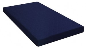6 Twin Quilted Top Bunk Bed Mattress, Navy