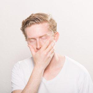 sleepy guy needs some foods that keep you awake
